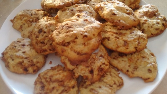 Apple Toffee Cookies - Beth Warren the Baker