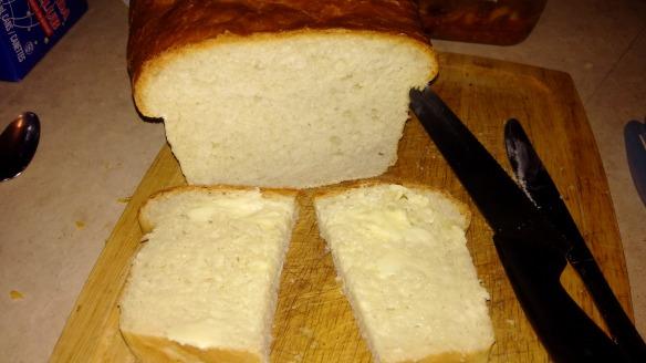 Potato Bread Sliced